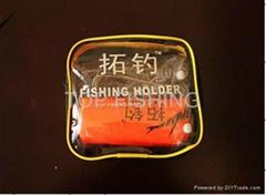 lure fishing holder lure spade hook