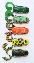 soft forg lure fishing lure frog for snakehead fishing