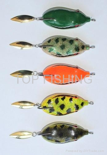 Soft forg lure fishing lure frog for snakehead fishing for Frogs for fishing