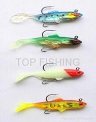 fishing soft lure swim bait