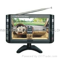"9"" digital TFT LCD TV, digital photo frame With (AV/TV/VGA/SD/USB)"