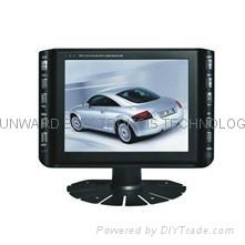 "8"" lcd digital tv monitor with V/TV/VGA/SD/USB(DVB-T optional)"