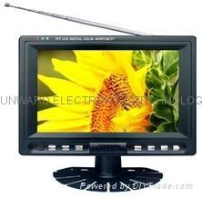 """7"""" lcd digital tv monitor with AV/TV/VGA"""
