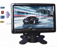 7inch car tv monitor with usb,sd card function