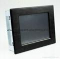 "8.4"" LCD Panel PC with Intel Atom N455 Processor 1"