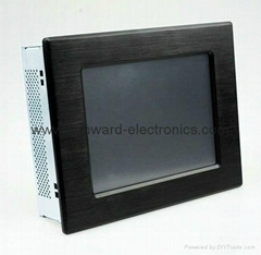 "8.4"" LCD Panel PC with Intel Atom N455 Processor"