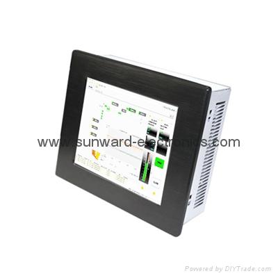 "8.4"" LCD Panel PC with Intel Atom N455 Processor 3"