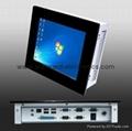 "8.4"" LCD Panel PC with Intel Atom N455 Processor 5"