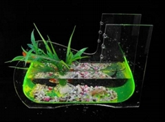 mini fashionable acrylic fish tank