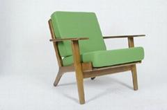 中国风木制沙发