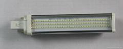 PLC LED G24橫插燈