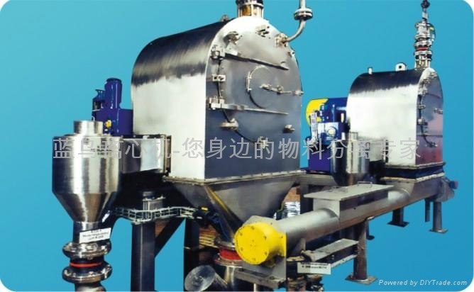 改善悬浮液入口段结构外形,提高了离心机