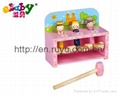 wooden hammer toy with angel