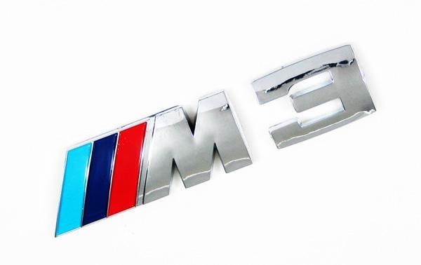 M3,M5 Car letter emblem 1