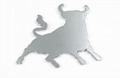 Bull Chrome Badge 1