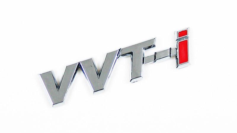 VVTI Car Letter Emblem 1