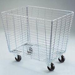 Retail Dump Bins-GCDB-04 durable basket trolley