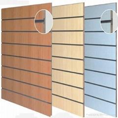 Slatwall panels-GCSP MDF slatwall panels