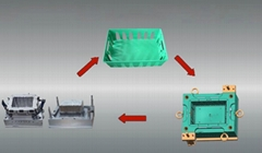 Plastic Injection Mould for Crate
