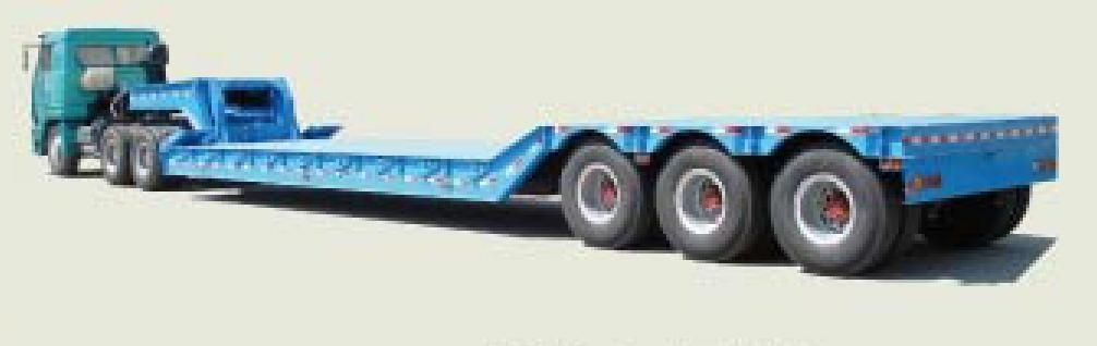 low-bed semi-trailer (China Manufacturer) - Special