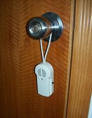 Door handle alarms
