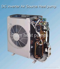 inverter,super electrical saving air source heat pump