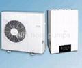 new designed air source heat pump