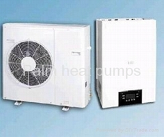 new designed air source heat pump