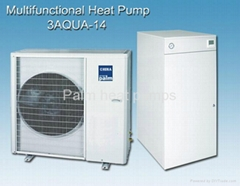 heating,air conditioning+D.H.W heat pump