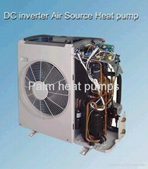 environmental, energy-saving, inverter air source heat pump