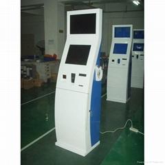 electronic stand kiosk self payment kiosk