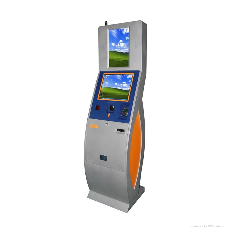 multimedia self-service automated kiosk