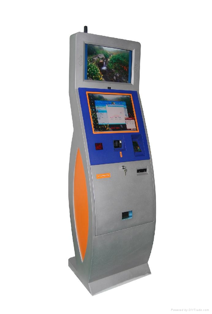 multimedia self-service automated kiosk  2