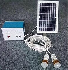2W mini solar home lighting system