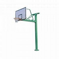 小區室外運動器材固定式獨臂籃球架