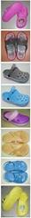 扇形款花园鞋