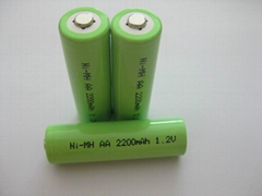 1.2V AA 2200mAh NIMH Rechargeable Battery