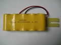 6V SC 2000mAh NiCD Rechargeable Battery