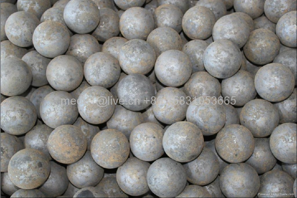 Grinding media steel balls for copper and cobalt ore 1