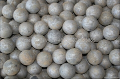 Grinding media steel balls for copper and cobalt ore
