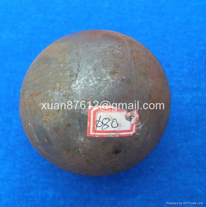 Grinding media steel balls for copper and cobalt ore 3