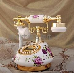 陶瓷仿古电话机