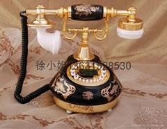 彩陶仿古电话机