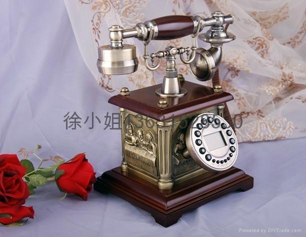帝國風情仿古電話機 2