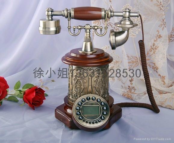 帝國風情仿古電話機 4