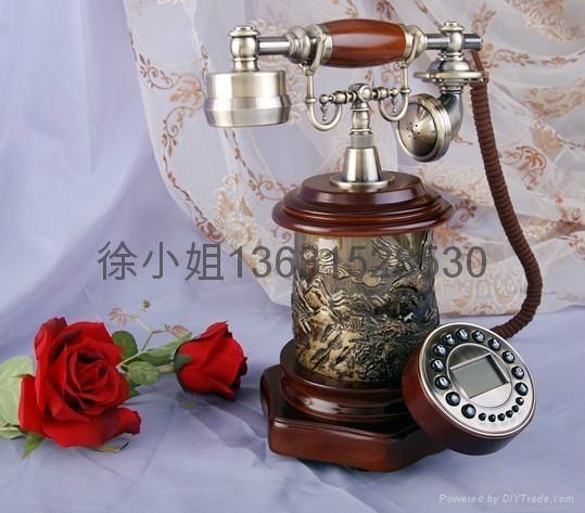 帝國風情仿古電話機 5