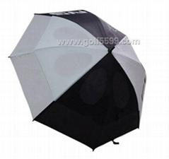 colorful golf umbrella