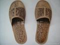 创新环保绿色一次性拖鞋 1