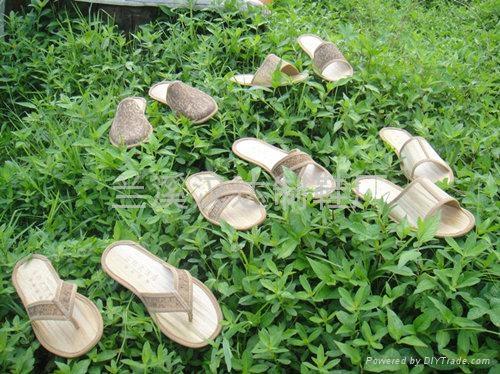创新环保绿色一次性拖鞋 3