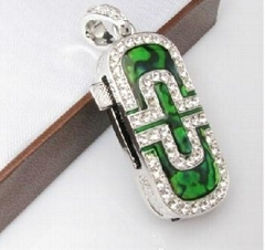 jewerly necklace usb pen  Drive
